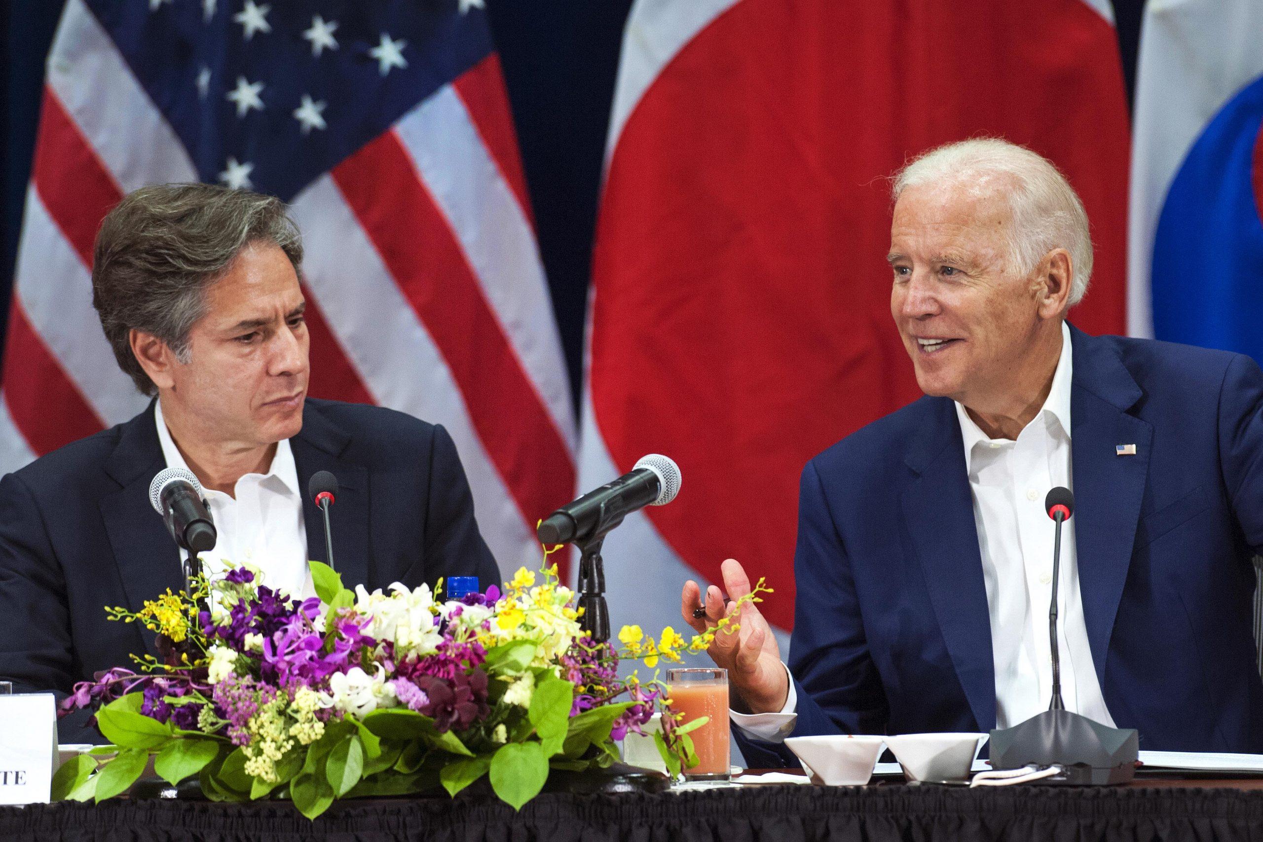 Joe Biden, Anthony Blinken