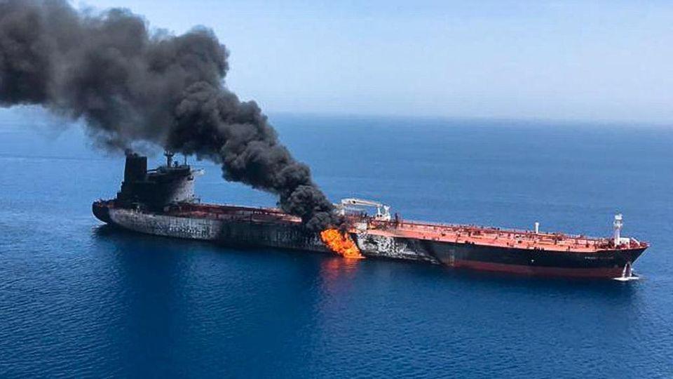 Iran, attacco alle petroliere