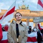 """Tsikhanovskaja: """"Pronta a fare un governo in esilio per la mia Bielorussia"""""""
